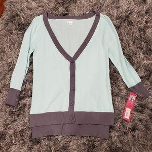 NWT Xhilaration Cardigan size S